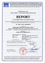Сертификат соответствия требованиям Европейского союза на распашные ворота