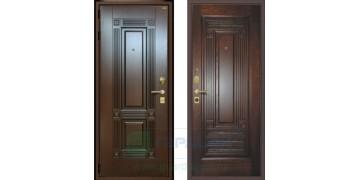 Стальная дверь ДС 3У «Италия 02»