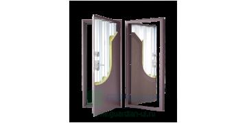 Стальная дверь ДС 5