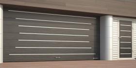 Ворота секционные с торсионным механизмом RSD02
