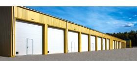 Промышленные секционные ворота ISD01